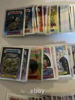 2013 Garbage Pail KidsChrome1 Refractor Base Set 110 Cards. 1 Set Of Pencil Art