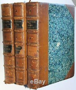 AUDUBON QUADRUPEDS of AMERICA Complete Set VOLUMES I, II, &III 1849-1854