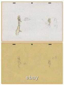 Akira Anime Genga Set for Cel Animation Art Kaneda Kei at Prison Otomo 1988
