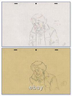 Akira Genga Drawing Set for Anime Cel Animation Art Kai Crying Otomo 1988
