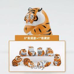 Anime Panghu Tiger Cat Blind Box Art Toy Figure 1pc or SET