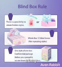 Anime Shin Love or Death Ghost Bear Blind Box Art Toy Figure Doll 1pc or Set