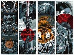 Anthony Petrie A Warrior's Dream Blue Variant SET 4 Prints