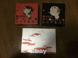 BAKEMONOGATARI Key Animation Note Art Book Vol. 1 & 2 and Kizumonogatari set