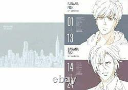 BANANA FISH KEY ANIMATION Art Book 2 Set Box Anime picture collection New MAPPA
