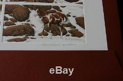 BEV DOOLITTLE 7 Signed & Numbered HIDE AND SEEK PRINTS 1 Lg. And 6 sm. Prints Set