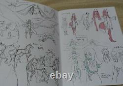 BNA Animation Art Work Book 9 Complete Set Design Key Frame Story Board