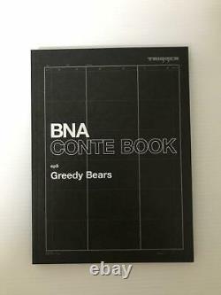 BNA Animation Art Work Book vol. 2 Design Key Frame Story Board 3 Set