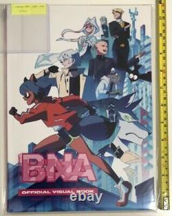 BNA official art book card hmv limited & starter 2 set trigger animation anime