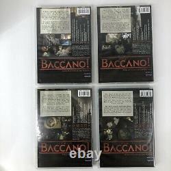 Baccano! Vol 1 2 3 4 DVD With Rare DVD Set Art Box Funimation Anime