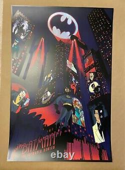 Batman Animated Series Raid71 Print SET Regular & Foil Variant Chris Thornley