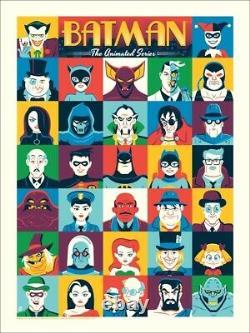 Batman Animated Series set Dave Perillo Mondo