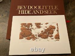 Bev Doolittle Hide And Seek Suite Mint And Unframed Set Of (6) Prints #3292