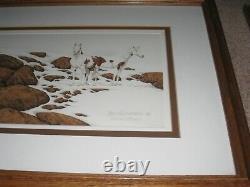Bev Doolittle Horses Hide & Seek Set of 6 Framed Numbered Prints One Signed
