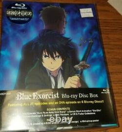 Blue Exorcist Complete Blu-ray 6 Disc Box Set ANIPLEX BRAND NEW OOP 0