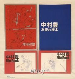C96 Nakamura Yutaka Animation Art Works vol 1 & booklet 3 limited set japan