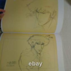 COWBOY BEBOP Toshihiro Kawamoto Animation Art Book Set 9 Shikishi Cards