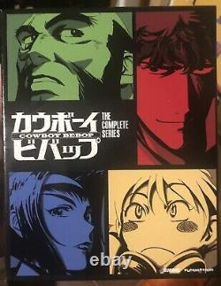 Cowboy Bebop Amazon Collectors Edition/ Exclusive Blu-Ray/ DVD Set Withart Books