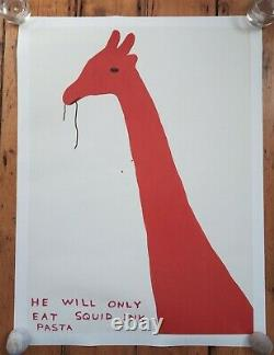 DAVID SHRIGLEY Animal Series Set of 4 Posters Unsigned Prints NEW