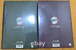 Demon Slayer Kimetsu no yaiba Art book Limited 2 set Episodes 1 to 26 Brochure