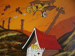 Don Aceto Listed California 3 Set Oil Ca Masterwork Train Folk Modern Animation