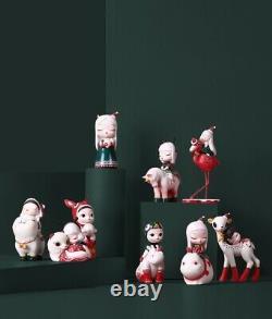 Dream Of Fairy Tale Legend Animal Girl Christmas Lite Art Designer Toy Figure