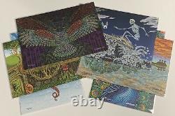 Emek Blotter Matching Set Signed & Numbered 27/200 Prints Poster Ltd Edition