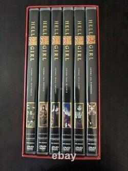Hell Girl Anime Complete DVD Box Set With Art Cards RARE Season 1