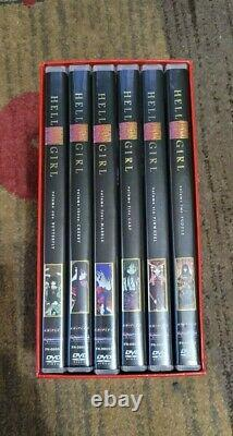 Hell girl Starter set complete DVD volume 1-6. With art cards, RARE