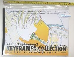 Hibike SOUND Euphonium 2 KEYFRAMES collection Art book set anime kyoto animation
