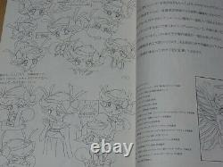 Hiromi Kato Animation I'm Gonna Be An Angel! Character Setting Art Book