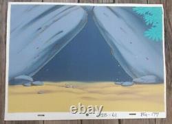 Hong Kong Phooey Original Production Animation Art 3 Cel set-up 1974