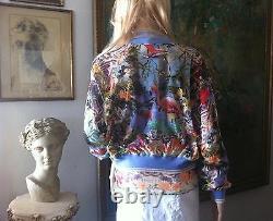 JEAN PAUL GAULTIER Twin SET Camisole M Top Large Sweater Jacket Multi Color NEW