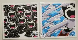 JERKFACE Felix The Cat + Astro Clouds Print Set Limited Edition Art Prints