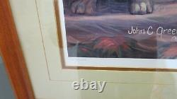 John C. Green, 3 Print Matched Set, Friends-Disappointed/Forever/Growing-#364