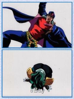 Jojo's Bizarre Adventure Anime Cel Set Animation Art Jotaro Star Platinum 1993