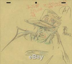 Jojo's Bizarre Adventure Anime Genga Set A1 for Cel Animation Art Jotaro 1993