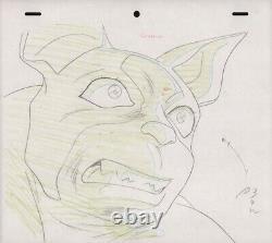 Jojo's Bizarre Adventure Anime Genga Set for Cel Animation Art Iggy 1993 OVA