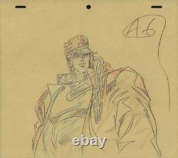 Jojo's Bizarre Adventure Anime Genga Set for Cel Animation Art Jotaro 1993 OVA
