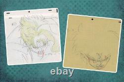 Jojo's Bizarre Adventure Anime Genga Set for Cel Animation Art Kakyoin 1993