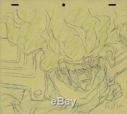 Jojo's Bizarre Adventure Anime Genga Set for Cel Animation Art Star Platinum OVA
