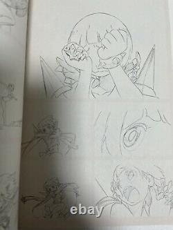 Kill la kill bonus art book 10 set trigger animation anime art