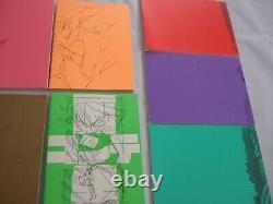 Kill la kill bonus art book 11 set trigger animation anime art sushio ryuko mako