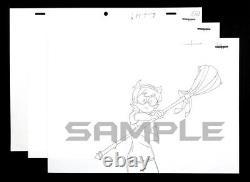 LITTLE WITCH ACADEMIA Animation ART Douga ANIME EXPO New TRIGGER Set of 3 FRAME