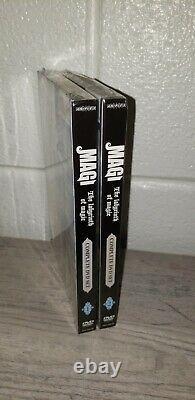 Magi The Labyrinth of Magic DVD Set 1&2 New