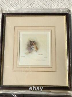 Mandy Shepherd Framed & Signed Limited Edition Animal Prints Set Of 4
