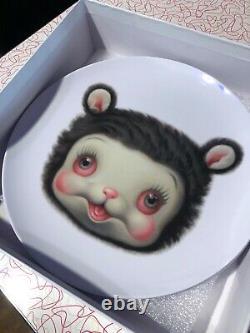 Mark Ryden Friendly Animal 6 Plate Complete set Yak Bunny Pig bear etc