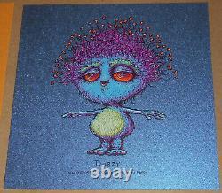 Marq Spusta Twibzy Schmiffles Mini Screen Print Set Micro Sticker Foil Blue RARE