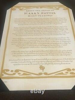 Mary Grandpre Harry Potter LE The Seven Images of Harry Potter Numbered Set