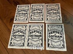 Mondo Batman The Animated Series Heroes Of Gotham Cards (PCC) Full Set